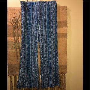 Mossimo knit palazzo pants